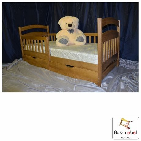 Детская кровать Карина из массива бука. АКЦИЯ!!! Любые размеры.