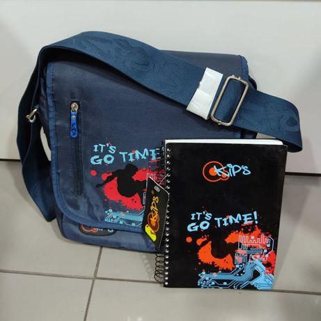 Bolsa + oferta caderno capa dura