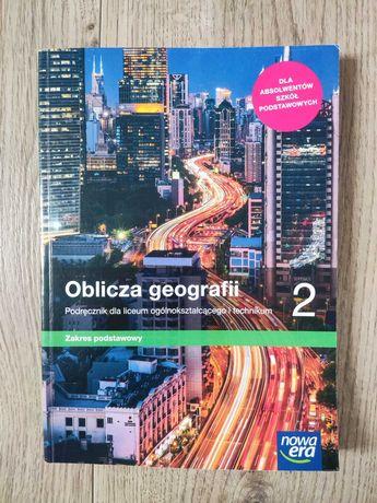 Podręcznik Geografia Nowa Era, 2 klasa szkoły średniej, podstawowy
