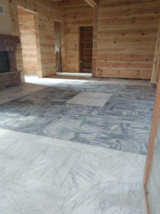 Marmur Bianco di Carrara 2cm Opus Incertum Palladiana Poskwitów - image 1