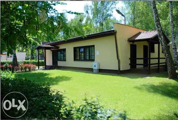 Domek nad jeziorem w Mierzynie