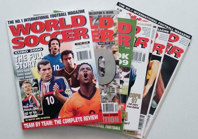 Revistas de futebol - World Soccer / Mundial / O Jogo