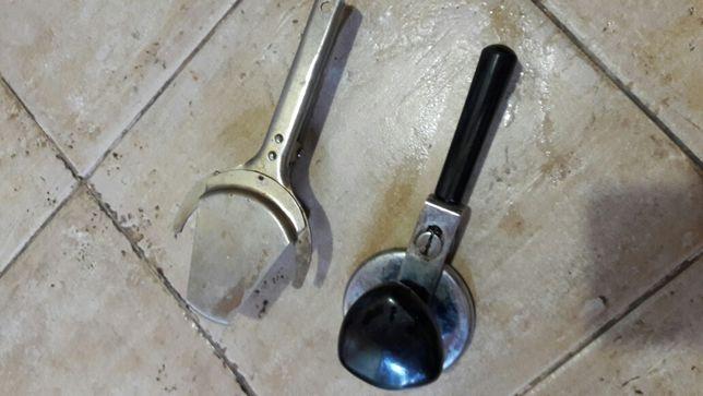 Закаточный ключ + открывашка для банок СССР