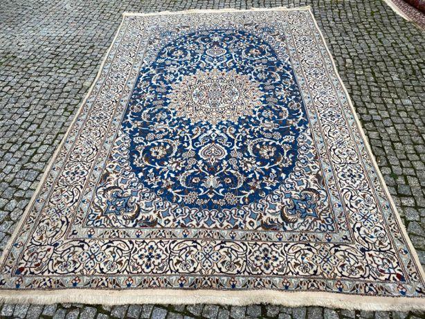 Nain dywan perski ręcznie tkany z jedwabiem 300x200 sklep 18 tys