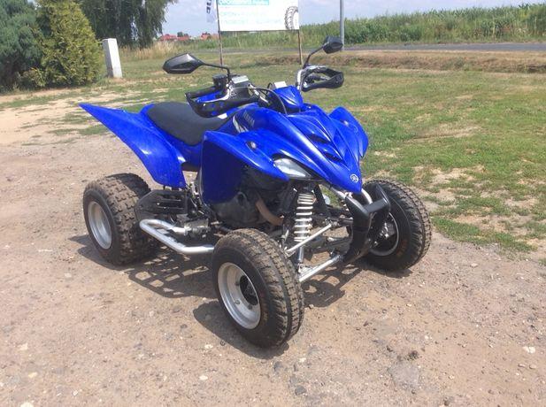 Yamaha raptor 350 homologacja