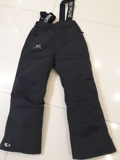 Spodnie narciary z szelkami