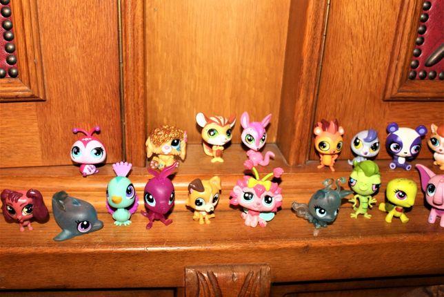 Miniaturki zabawki z kolekcji Pet shop 50 szt.