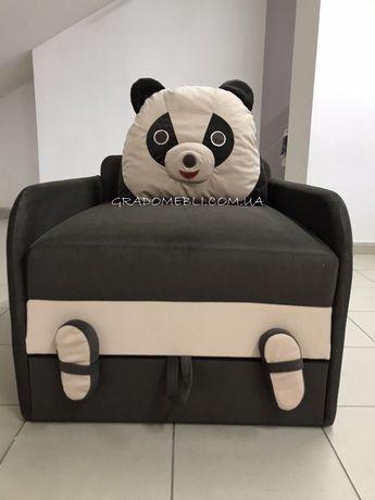 Дитячий диван.Панда юніор.дитяче ліжко.крісло