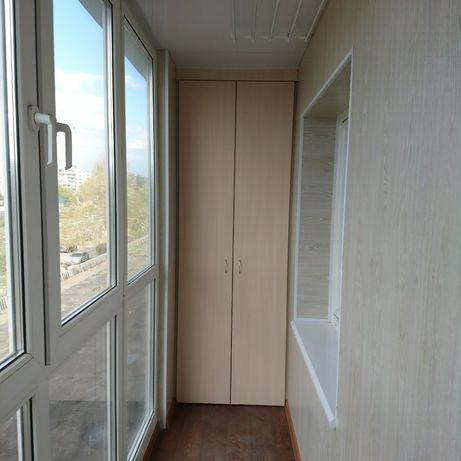Акция !!! Балкон лоджия под ключ . Остекление отделка .