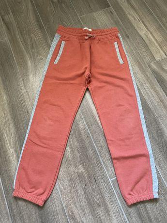 Zara spodnie dresowe 140 Ideał!