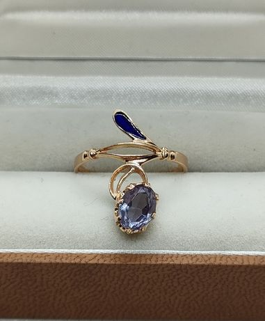 Złoty pierścionek PR 585 Tanzanit