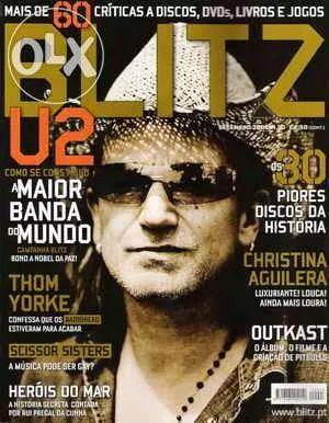 Blitz nº 3 Setembro 2006 - Capa U2 (portes íncluídos)
