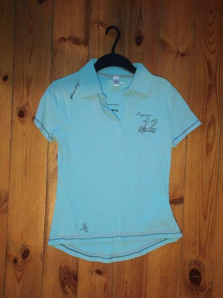 T-shirt, bluzka, koszulka, polo, Fouganza, M