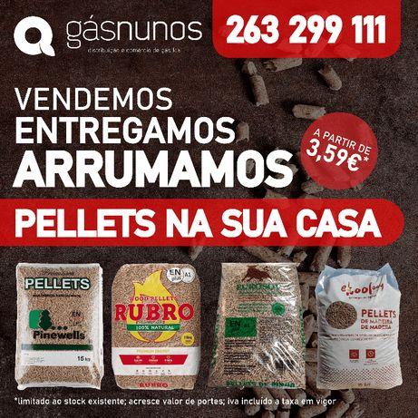 Pellets Lisboa/Sintra/Cascais/Almada/Montijo/Sesimbra/Benavente
