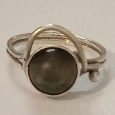 Srebrny pierścionek Rytosztuka