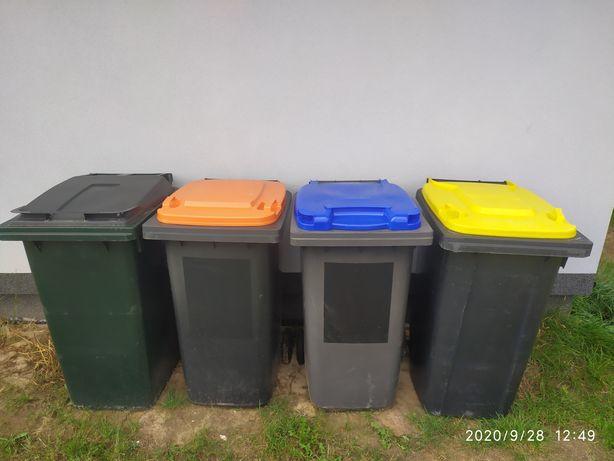 Kosz Kosze na śmieci 240L pojemniki na odpady