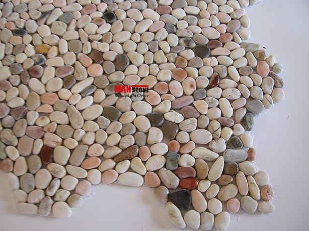 Mozaika Otoczak Mały Mix, Kamień Naturalny na Twoją Ścianę