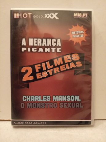DVD com 2 filmes ( A HERANÇA... ) novo