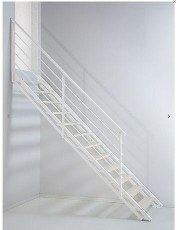 Schody proste, regulowane FPCS White