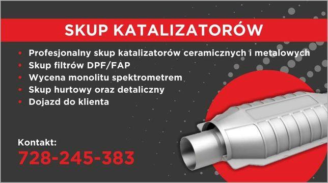 Skup katalizatorów, Filtrów DPF/FAP !! Konkurencyjne ceny !!