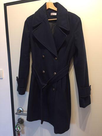 Granatowy płaszcz Orsay - rozmiar 40