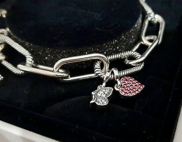 Pandora bransoletka charms nowa