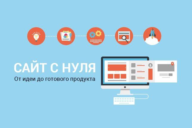Продвижение сайта 1200 грн. Контекстная реклама. Создание сайтов.