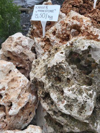 NATURALNY Kamień Moonstone/ Meteora, ogród, terrarium, akwarium