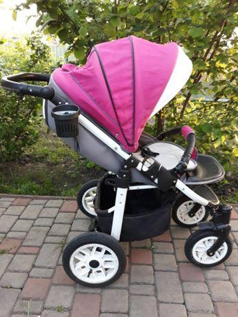 Дитяча коляска Camarelo Eos з москітною сіткою та дощовиком