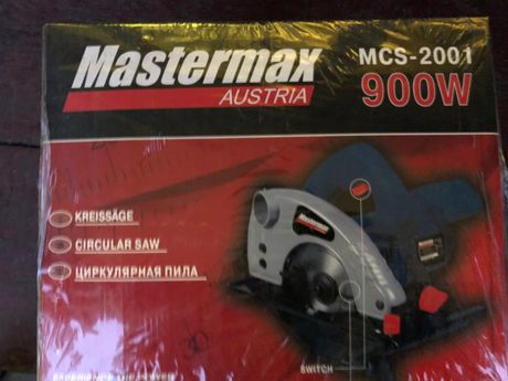 Цену снижено! Продам новую циркулярную пилу MCS-2001. Mastermaх