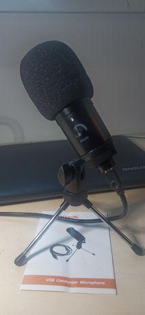 Микрофон конденсаторный usb  для ПК, ноутбука