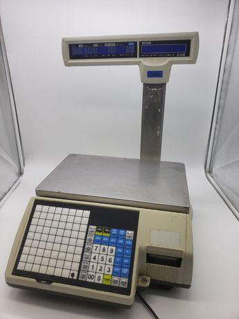 Весы Cas CL5000J-15IP с чекопечатью товарные электронные 15кг опт!