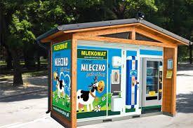 Mlekomat automat do sprzedaży mleka