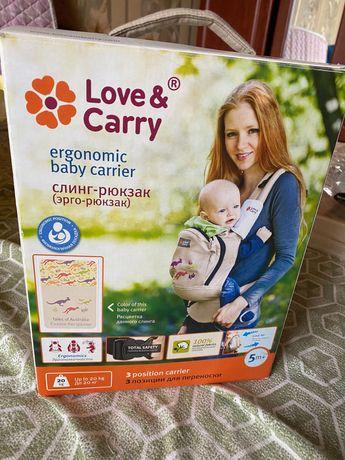 Слинг-рюкзак love & carry