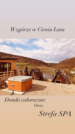 Domki letniskowe domek caloroczny SPA jacuzzi domek letniskowy bon tur
