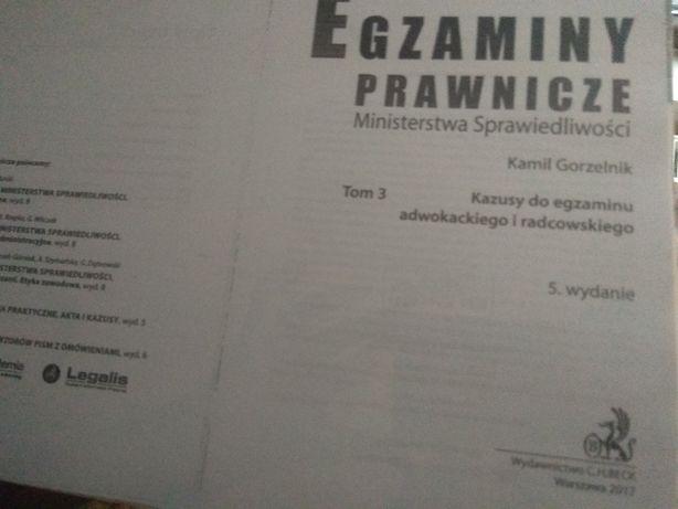 Egzaminy prawnicze