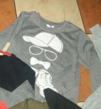 CHEROKEE i inna bluzy dla chłopca 98/104