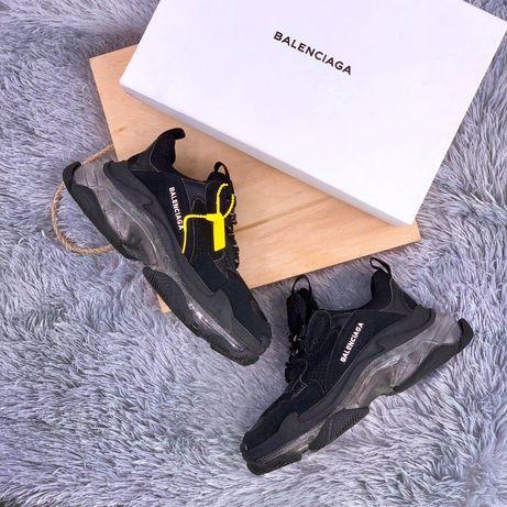 Balenciaga Triple S Black Sole 36-45 buty trampki tenisowki sneakersy