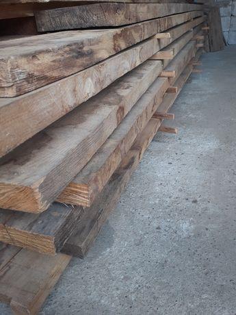 Drewno baliki dębowe suche
