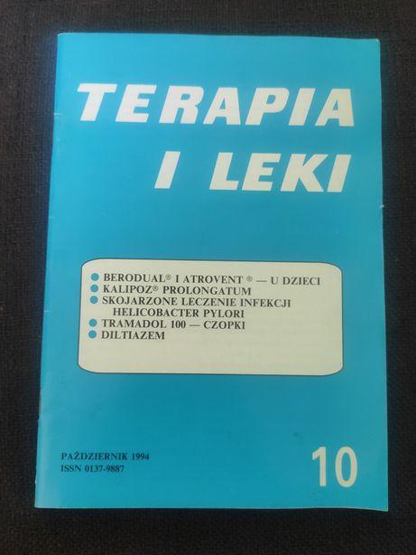 """""""Terapia i leki"""" z października 1994 r. miesięcznik medyczny"""