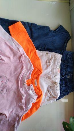 Набор одежды для девочки 6 мес 7 ед. Zara, Next, Disney baby