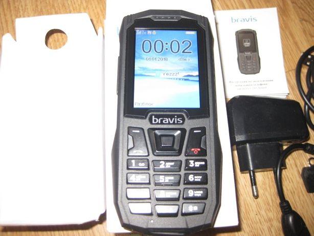 Мобильный телефон противоударный Bravis C245 Armor Dual Sim