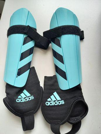 Ochraniacze na piszczele i kostki adidas Junior ochraniacze piłkarskie