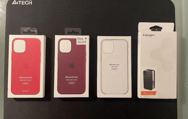 iPhone 12 Mini Capas MagSafe Apple ORIGINAIS