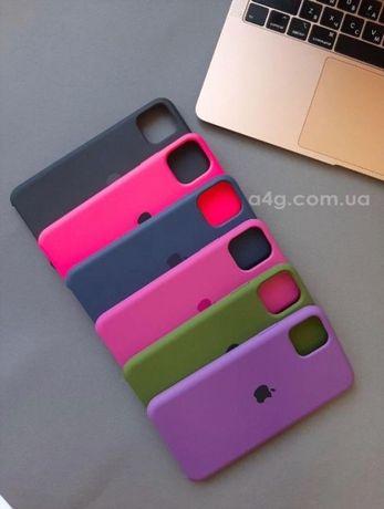 Чехол Silicone case для iPhone 11/11 Pro/11 Pro Max противоударный