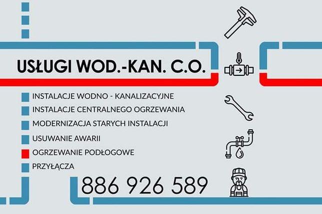 HYDRAULIK Usługi wod - kan - co - gaz