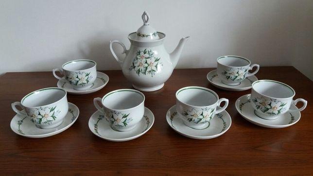 Komplet porcelany zestaw do kawy/herbaty