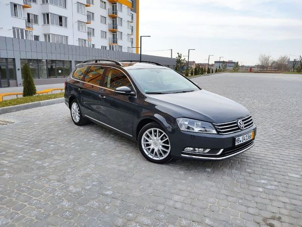 Volkswagen Passat B7 2.0 TDI BLUEMOTION 2013 Свіжопригнаний!