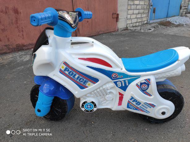 Толокар- мотоцикл