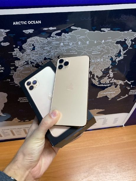 Apple Iphone 11 Pro Max 256gb Gold Neverlock Гарантия